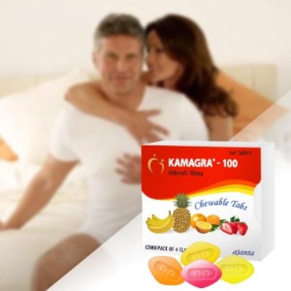 Potenzmitteltabletten Kamagra Soft Tabs  Online ohne Rezept kaufen